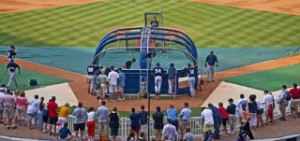 Experience Atlanta Braves batting practice first hand!