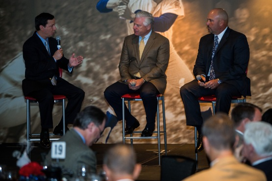"Atlanta Braves General Manager Frank Wren and team Manager Fredi Gonzalez discuss the ""State of the Atlanta Braves"""