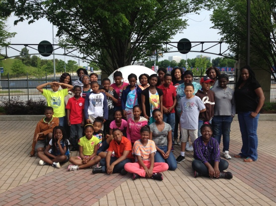 5th Graders from D.H. Stanton Elementary