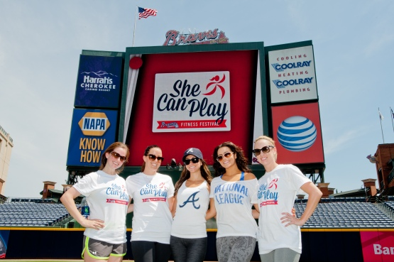 Braves Wives at She Can Play
