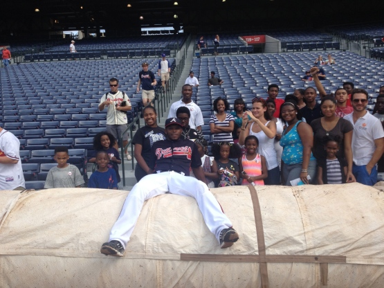 Justin Upton with City of Refuge
