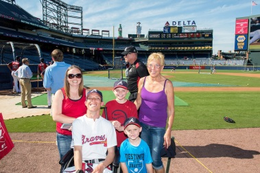 The Allen Family from the Miracle League of Douglasville