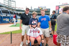 The Morton Family from the Miracle League of Macon