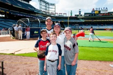 The Johnson Family from the Miracle League of Newton County