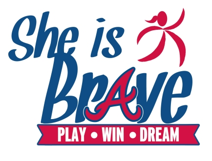 She Is Brave Logo
