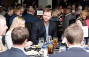 ATLANTA, GA - April 06: Leadoff Luncheon at Turner Field on April 06, 2016 in Atlanta, Georgia. (Photo by Isaac Green/Beam/Atlanta Braves) *** Local Caption *** A.J. Pierzynski