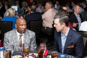 ATLANTA, GA - April 06: Leadoff Luncheon at Turner Field on April 06, 2016 in Atlanta, Georgia. (Photo by Isaac Green/Beam/Atlanta Braves) *** Local Caption *** Terry Pendleton