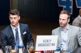 ATLANTA, GA - April 06: Leadoff Luncheon at Turner Field on April 06, 2016 in Atlanta, Georgia. (Photo by Isaac Green/Beam/Atlanta Braves) *** Local Caption *** Matt Wisler