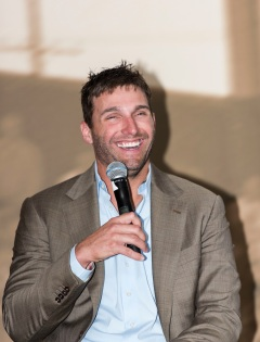 ATLANTA, GA - April 06: Leadoff Luncheon at Turner Field on April 06, 2016 in Atlanta, Georgia. (Photo by Isaac Green/Beam/Atlanta Braves) *** Local Caption *** Jeff Francoeur