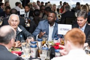 ATLANTA, GA - April 06: Leadoff Luncheon at Turner Field on April 06, 2016 in Atlanta, Georgia. (Photo by Isaac Green/Beam/Atlanta Braves) *** Local Caption *** Adonis Garcia