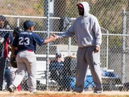 ATLANTA, GA - APRIL 9: Jackie Robinson Invitational at Carver YMCA on April 9, 2016 (Photo by Isaac Green/Beam/Atlanta Braves/Getty Images) *** Local Caption ***