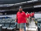 ATLANTA, GA - May 19: Wounded Warrior Classic at Turner Field on May 19, 2016 in Atlanta, Georgia. (Photo by Isaac Green/Beam/Atlanta Braves/Getty Images) *** Local Caption ***