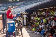 ATLANTA, GA - June 13: Play Clinic at Turner Field on June 13, 2016. (Photo by Kyle Hess/Beam/Atlanta Braves/Getty Images) *** Local Caption ***