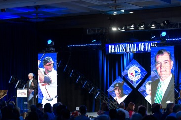 ATLANTA, GA - AUGUST 19: The Atlanta Braves hosted Braves the annual Hall of Fame Luncheon on August 19, 2016 in Atlanta, Georgia. (Photo by Patrick Duffy/Beam/Atlanta Braves/Getty Images) *** Local Caption *** Terry Gcguirk